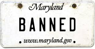 Banned Vanity Plates Banned License Plates The Baltimore Sun