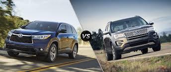 Ford Explorer Towing Capacity - 2016 toyota highlander vs 2016 ford explorer
