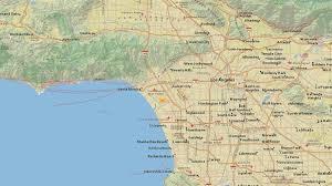 Earthquake Map Los Angeles by Preliminary Magnitude 2 7 Earthquake Strikes Near Marina Del Rey