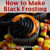 how do you make black frosting with food coloring 28 images