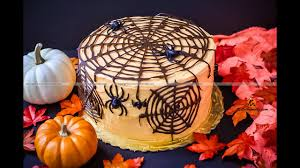halloween spider web cake halloween special spider web cake chocolate cake with cream