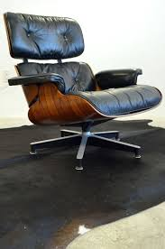 vintage eames style lounge chair and ottoman original eames lounge