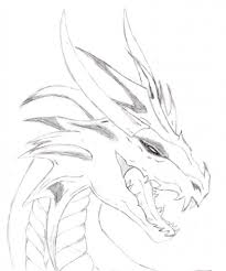 a drawing of a dragon drawing dragons step step dragons draw a