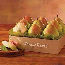 gourmet pears the favorite royal riviera pears gift baskets