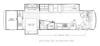 Shed Floor Plan by New 2016 Newmar Canyon Star Steinbring Motorcoach Newmar