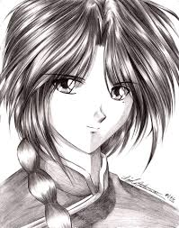 nuriko pencil shading by yuri nikko on deviantart