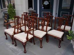 Chippendale Dining Room Furniture Mahogany Dining Room Sets With Goodly Dining Room