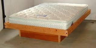 King Size Platform Bed Plans Platform Bed Plans Bonners Furniture