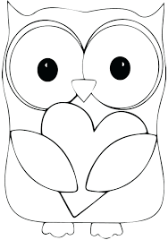 owl template printable craft pumpkin pattern best images free