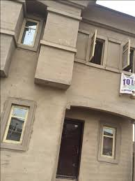 Plumbing A New House A New House Of Miniflat For Rent At Ketu Agboyi Properties Nigeria
