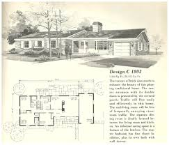1960 ranch house floor plans 4 bedroom house plans