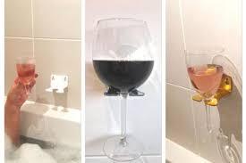 Bathtub Wine A Glasgow Is Selling U0027bathtub Wine Glass Holders U0027 And They