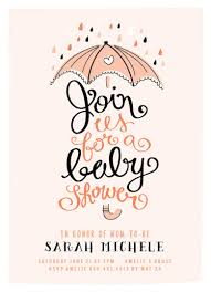 umbrella baby shower baby shower invitations umbrella shower at minted