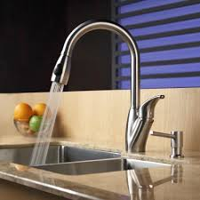 Stainless Steel Pull Out Kitchen Faucet by Kitchen Faucet Kraususa Com