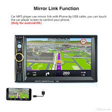 connect android to car stereo usb 2 din car stereo mp5 player phone tablet connected gps bluetooth