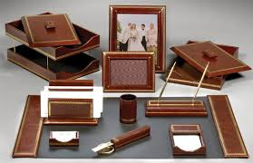 Leather Desk Accessories Uk Office And Home Office Essentials Park Avenue Style