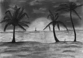 beach pencil drawing pic2 deepak goel flickr