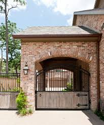brick shed ideas garage traditional with covered parking detached