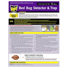 What To Use On Bed Bug Bites Amazon Com Raid Bed Bug Detector And Trap 8 0 Count Health
