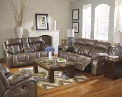 Marlo Furniture Liquidation Center by Ashley Furniture Loral Sable Reclining Living Room Group Ahfa