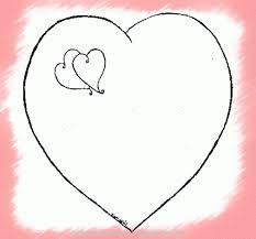 imagenes de amor para dibujar grandes simpáticos dibujos para colorear de corazones grandes imágenes de