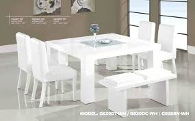 white modern dining table set white modern dining table set detailed images white contemporary