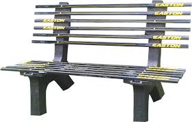 Recycled Plastic Outdoor Furniture Ski Chair Hockey Stick Recycled Plastic Garden Bench U0026 Reviews