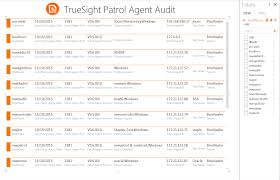 truesight monitoring audit reports using ms exc bmc communities