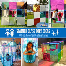where can i buy colored cellophane modern stained glass fort ideas using colored cellophane