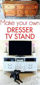 make your own buffet table buffet into tv stand make your own dresser stand buffet table tv