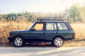 land rover racing range rover classic fall drive