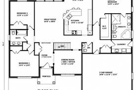 custom home design plans 35 bungalow house floor plans and designs simple bungalow