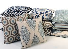 blue and gray sofa pillows blue and gray decorative throw pillows 8 fabrics and 7 sizes accent