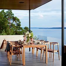 5 tips to create the perfect outdoor dining space design necessities oxnO extendable table teak from skargaarden outdoor dining area yliving