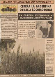 29 octubre 1967 como hoy abc color