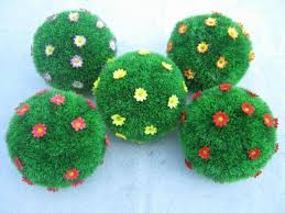 Outdoor Topiary Trees Wholesale - wholesale price mixed sizes artificial topiary balls with
