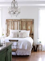 creative upcycled headboard ideas hgtv green ladder headboard