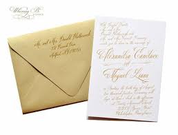 Calligraphy Invitations Https I Pinimg Com 736x 4e A7 80 4ea7804d785785b