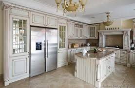 white kitchen dark floors daniels cabinets antique white kitchen