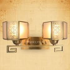 Bathroom Wall Lights Traditional 2 Light Bronze Funky Style Mission Traditional Bathroom Wall Sconces