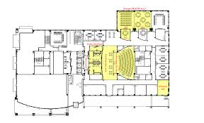 Banquet Hall Floor Plan by Meeting Locations