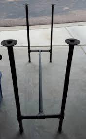 Industrial Standing Desk by Building My Industrial Pipe Standing Desk U2013 Chris Perez