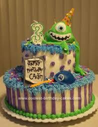 monsters inc birthday cake coolest monsters inc birthday cake