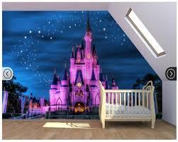 Carta Da Parati Bambini Walt Disney by Bambini Personalizzate Rivestimenti Murali Tessili Fiaba Castello