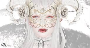 wallpaper face drawing white illustration model 3d winter