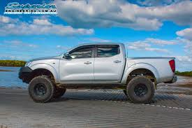 lifted silver nissan frontier nissan navara suspension upgrade best suspension 2017