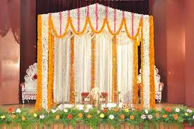 decoration with flowers for wedding room candles and including