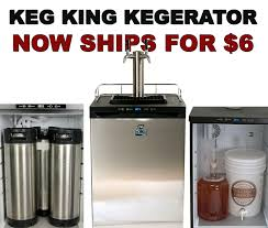 kegerator black friday new low priced keg king kegerator ships for just 6 99