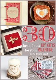 valentines presents for boyfriend 30 last minute diy s day gift ideas for him the