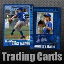 baseball trading cards custom editable templates for baseball